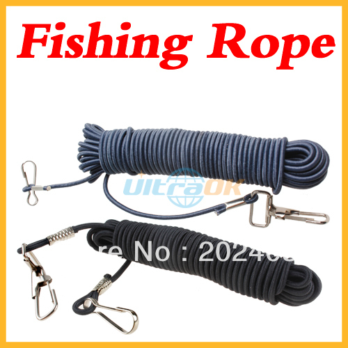 5 M Dual Lobster Hooks Fishing Safety Line Elastic Rope(China (Mainland))