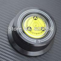 1PC 3 in 1 Black LP Record DISC Stabilizer Stroboscope Gradienter with Lever Bar