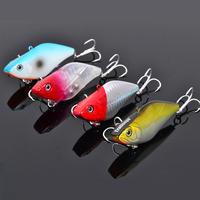 40pcs/lot  fishing lures, assorted colors,vib ,70mm&13.8g sinking