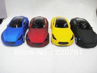 DHL 2013 New 200pcs/lot Maserati Mini Music Car Speaker with FM radio mini speaker Support TF+U dis speaker