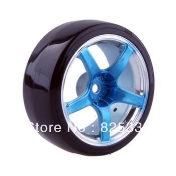 4pcs RC Hard Tires Tyre Wheel Rim Fit HSP HPI 1:10 On-Road Drift Car 2060