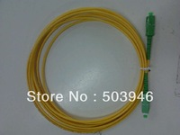 SC/APC-SC/APC singlemode simplex fiber optic patch cord  3meters