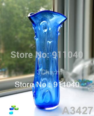 Cheap Blue Murano Mini Glass Vases(China (Mainland))