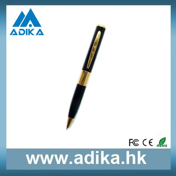 Free Shipping Hot Sale Cheap Mini Camcorder 1280*960 Mini Hidden Pen Camera (ADK-VP138)(China (Mainland))