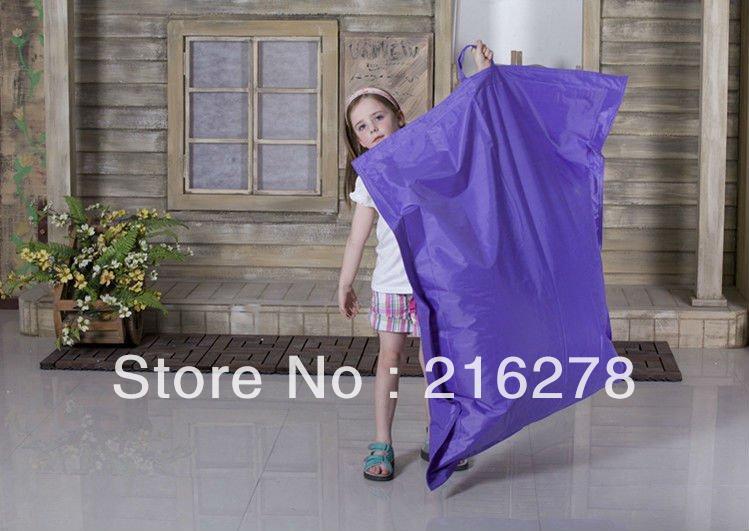 легко носить фиолетовый кресло-мешок, большой размер