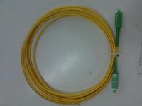 SC/APC-SC/APC singlemode simplex fiber optic patch cord  3meters