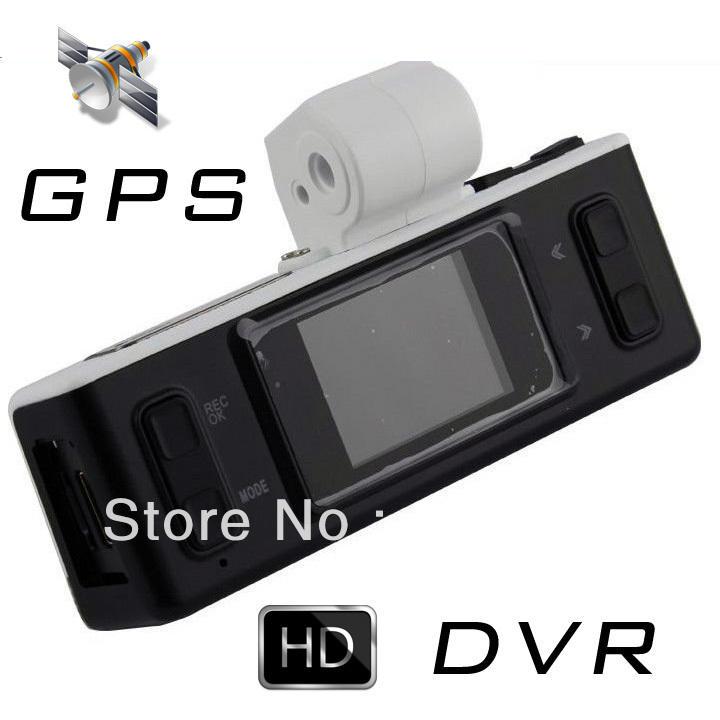 Free Shipping GS2000 Mini Camera Car DVR With Full HD 1920x1080p 30FPS 8GB Portable Sports w/1.5' LCD/120 Degrees Lens/HDMI/GPS(China (Mainland))