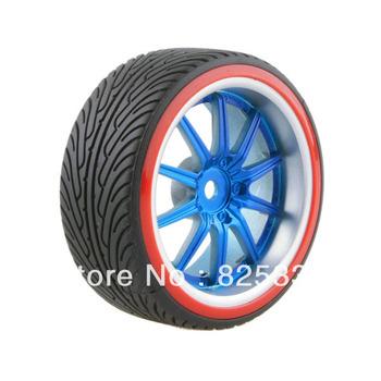 4pcs RC Hard Tires Tyre Wheel Rim Fit HSP HPI 1:10 On-Road Drift Car 9086