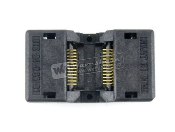 SSOP24 TSSOP24 OTS-24-0.65-01 Enplas IC Test Burn-in Socket Programming Adapter 0.65mm Pitch 4.4mm Width
