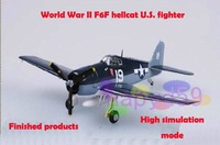 5pcs free ship 1/72 finished world war II piston propeller fighter model military aircraft model F6F hellcat U.S. fighter
