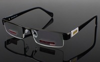 New 2013 fashion high quality metal reading glasses go with case, strength power +1.0 to +4.0 accept mixed order, no MOQ