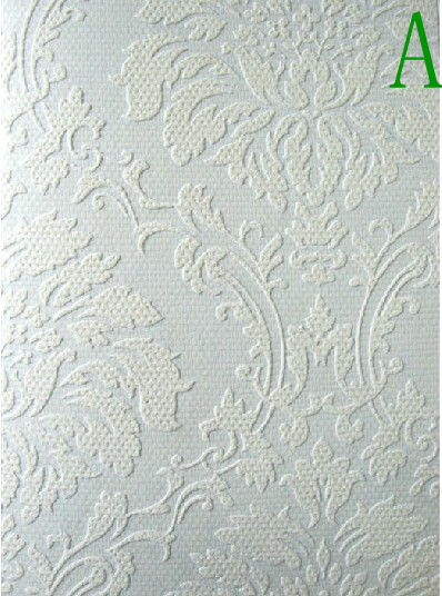 Colorable Wallpaper DIY Art Graffiti Home Decor for walls/paintable wallpaper/quartz glass fiber(China (Mainland))