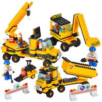 Diy toy heavy duty plastic insert blocks child day gift blocks toy diy model