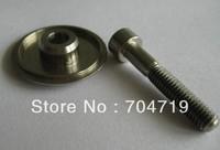 One piece Ultra light 6/4 Titanium headset cap & Titanium bolt (M6x 35mm) 11g