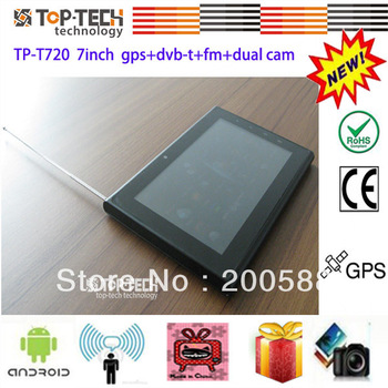 Hot Selling 7inch tablet pc gps dvb-t wifi isdb-t android tablet pc mainly  aim at South America Market