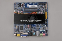 Slim HTPC Mini-ITX Motherboard ION3-D27ZX with nVidia ION3,(ATOM D2700+Nvidia GT 218)+12VDC IN, ALL-IN-ONE