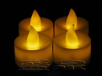 Hot Sellng Led candle romantic candle lights electronic, 100pcs per lot, color assorted