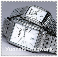Free Shipping! MENS AR0137 mens women couple Classic Stainless Steel Designer Watch