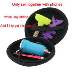 Only sell together with the phones A small gift bag including Touch Pan Magic CS The Toilet Bracket fish bone Winder(China (Mainland))
