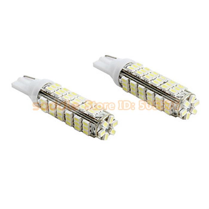 T10 78*1206 SMD LED Car Bulb White LED Light Blub for Car with External Light Interior Light Free Shipping(China (Mainland))