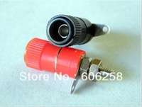 4mm Banana Plug  Audio Speaker Wire Cable Connector red and black 50pair