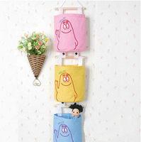 New fashion Oxford Fabric household creative wall storage bag hang bag 5pcs/lot FreeShipping