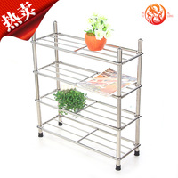 Xulong stainless steel shelf stainless steel shoe hanger stainless steel storage rack xj0904