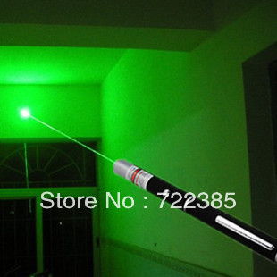 Wholesale 500MW green green green laser pointer single point pen sales the pen refers star flashlight green pointer pen(China (Mainland))