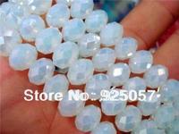 5x8mm Sri Lanka Moonstone Gem Faceted Abacus Loose Bead 15''  Fashion jewelry