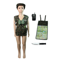 Halloween Christmas clothing child clothes props camouflage