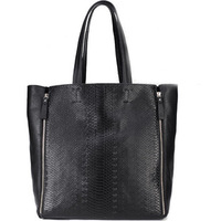 hot sale! 2013 new arrival black bag fashion women shoulder bag genuine leather handbag woman shoudler bags wholesale