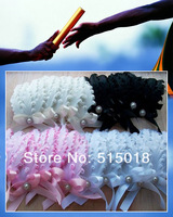 Free Shipping!15pieces goose feather pads for lady,Curl Feather Headband