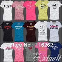 2013 Fashion Cotton T-shirt For Women Tops Original Manufacturer Supply Short sleeve T-shirt  1PCS