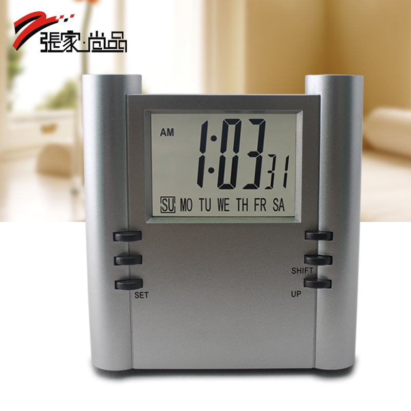 Brief alarm clock led fashion clock lounged clock small alarm clock zj-203(China (Mainland))