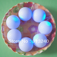 500pieces/lot good quality glow golf balls