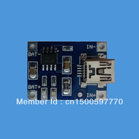 1X Lithium Battery Charger Module Board mini 5v USB 1A li-ion Battery charger tp4056 18650 DIY