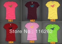 2013 Fashion Cotton T-shirt For Women Tops Original Manufacturer Supply Short sleeve T-shirt  1pcs  Y 008