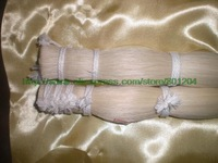 78cm Mongolia White Bow Hair, white horse hair, unbleach bow hair 500grams
