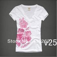 2013 Fashion Cotton T-shirt For Women Tops Original  Supply Short sleeve T-shirt  12pcs  Y 006