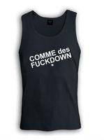 Fuckdown Tank Tops SSUR Vest COMME DES Cotton Singlet Fashion Men Summer Upper Garment Cool Apparel Wholesale