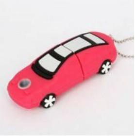 Free shipping !!! Wholesale Hot Cheap Enough Cartoon Plastic car 4GB 8GB 16GB 32GB  USB 2.0 Flash Memory Stick Drive  HC163