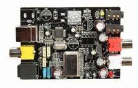 24bit 192KHZ DAC USB sound card Optical fiber Input USB coaxial output board