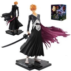"New ! Bleach Kurosaki Ichigo 8"" Figure Brand New Anime Action toys and figures(China (Mainland))"