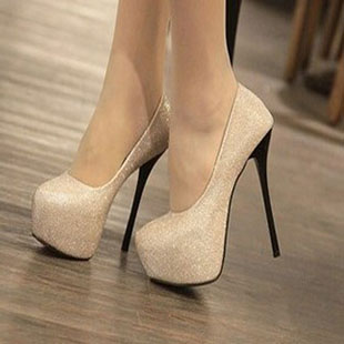 High-heeled shoes 14cm thin heels platform fashion 2012 spring pointed toe fashion female shoes(China (Mainland))