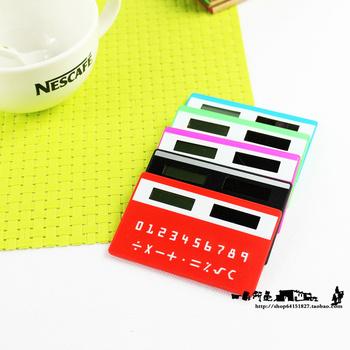 High quality ultra-thin card computer portable mini cartoon scientific calculator