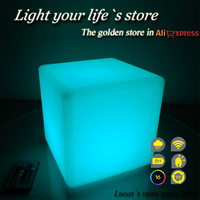 Best Sell Decoration Remote Control Outdoor LED Cube