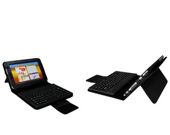 "For Samsung Galaxy Tab 2 7.0"" P3100 P3110,  Plus P6200 P6210 Stander Leather Case + Wireless Bluetooth Keyboard +Retail Box"