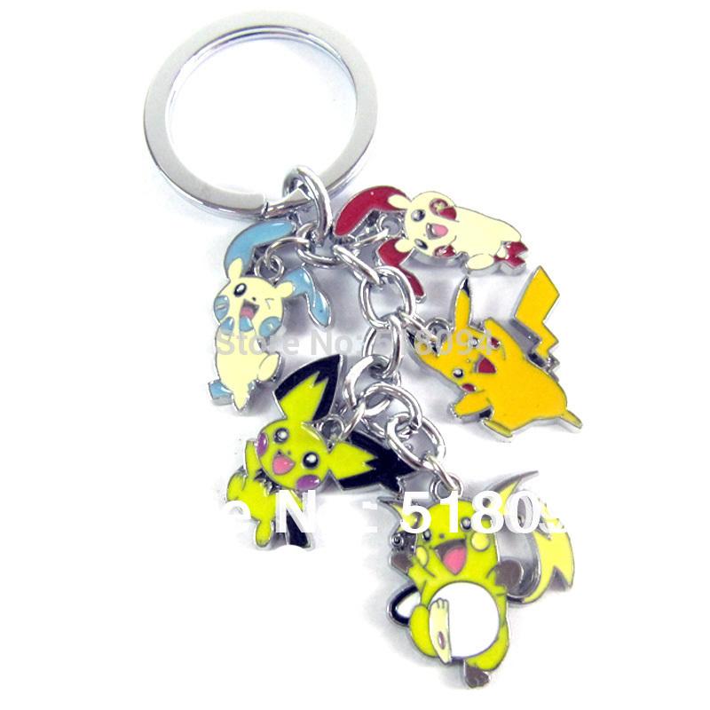 ... figür Anahtarlık pikachu tuşu çin anahtarlık(China (Mainland