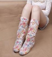 Cool boots female 2014 cutout summer boots women's shoes medium-leg boots