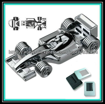 Unique Metal Formula One F1 Racing Car USB 2.0 1GB/2GB/4GB/8GB/16GB Flash Disk Pen Drive
